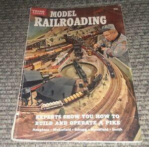 Vintage MODEL RAILROADING Trend Books 1956 No. 138 vtg ANTIQUE train railroad