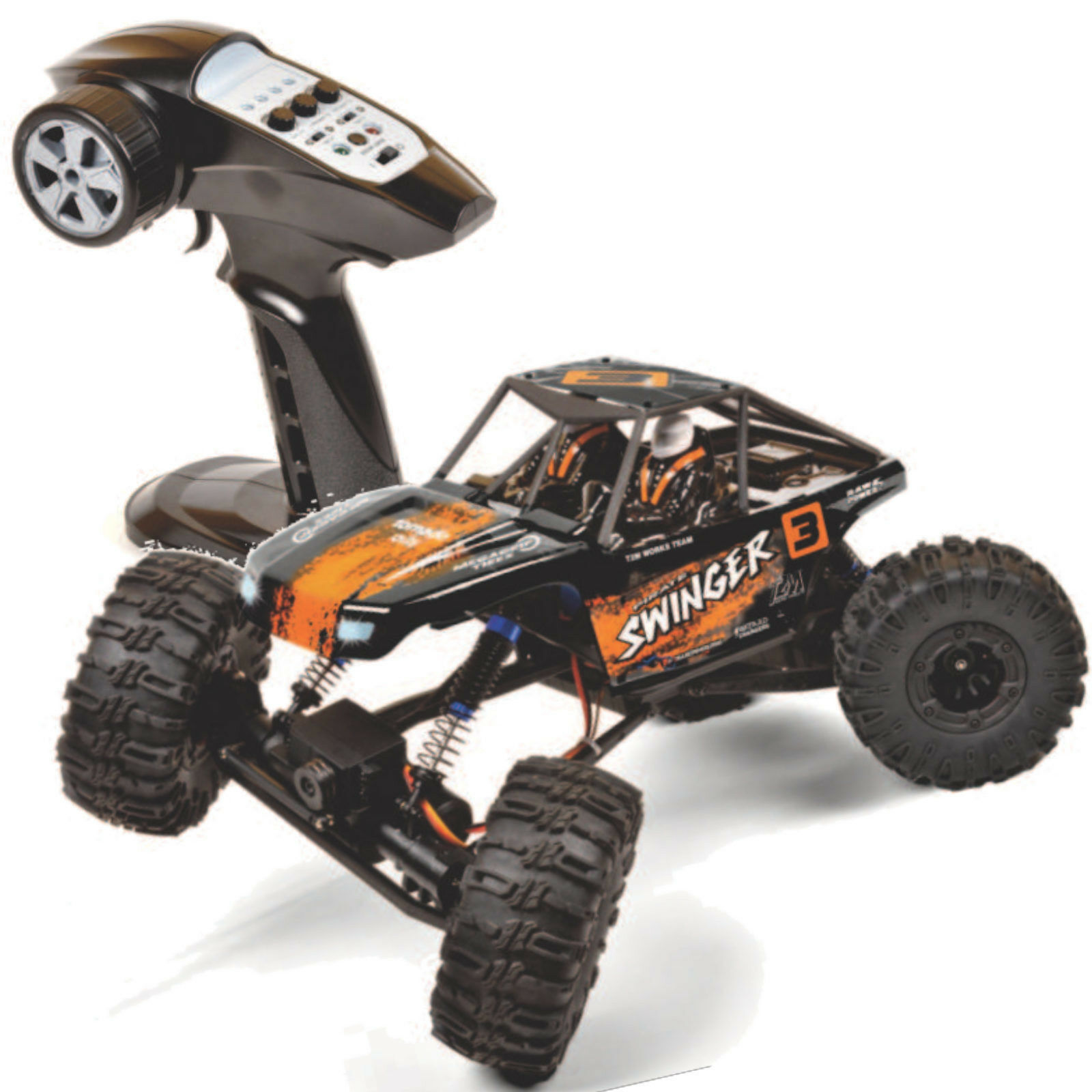 T2M T4942 Pirate Swinger 4x4x4 Rc Crawler 2,4 Ghz  Hinterradsteuerung