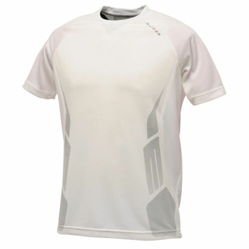 Dare2b Mens Sport Breathable T Shirt Prolific Gym Training Running Sport White