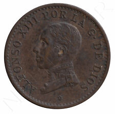 1 Céntimo cobre ALFONSO XIII  1913 PC. V *3* practicamente S/C - Rey España