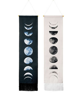 Wall Art Tapestry Gifts Moon Phase Lunar Display Wall Hanging Modern Home Decor