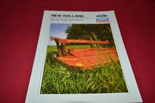 New Holland 415 412 411 408 Discbine Mower Conditioner Dealers Brochure DCPA4