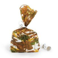 24 Camouflage Cellophane Camo Candy Bag Hunting Wedding Decoration Party Favor