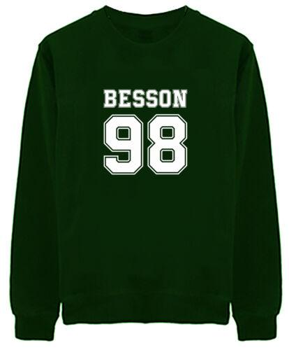PERCHE /'NON CI Unisex Maglione Besson 98-Boy Band fangirl POP Corbyn seavey Avery