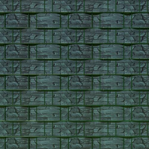 RECINZIONE da giardino screening privacy Shade 35 M Rotolo Pannello Copertura Mesh FOIL Slate NUOVO