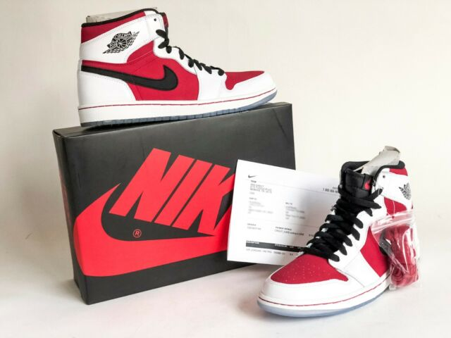 455f8e381e7f Nike Air Jordan I 1 Retro High OG Carmine 9.5 for sale online