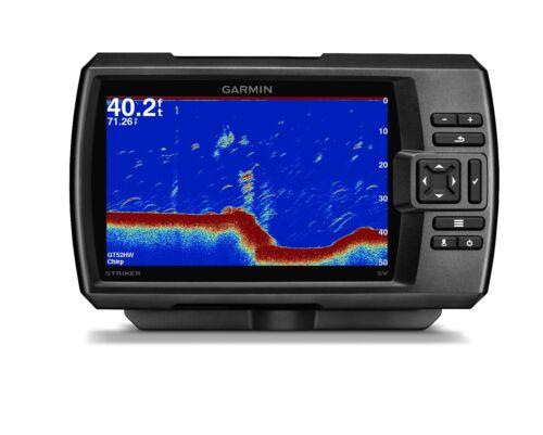 """Clearvu Chirp Sonar 010 01809 Garmin Striker 7sv Fishfinder 7 /"""" LCD GPS Seiten"""