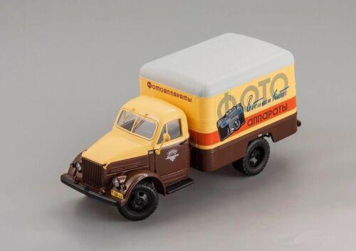 "105181 Soviet Truck LKW DIP 1:43 New! ltd ed 12 pc-s GAZ 51 KI-51 1953 /""Photo/"""
