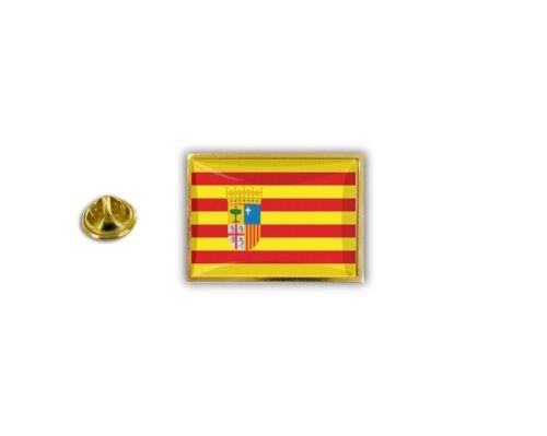 pin flaggenpin flaggen button pins Anstecknadel sammler spanien aragon