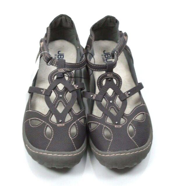 Sandals Memory Foam Charcoal Gray