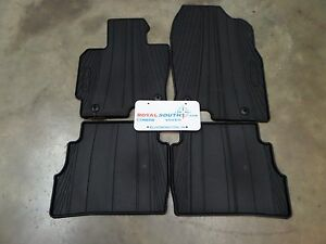 genuine mazda cx5 2013 2016 all weather floor mats oe oem. Black Bedroom Furniture Sets. Home Design Ideas