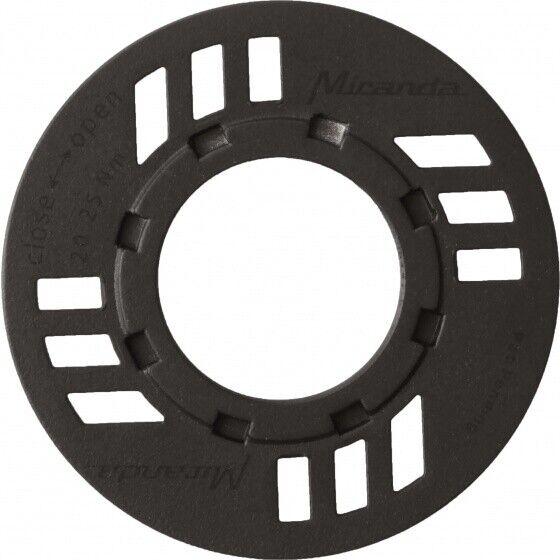 XLC Kettenblatt für Bosch Systeme CR-E02 42 Zähne schwarz m Kettenschutzscheibe
