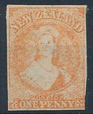 [8428] New Zealand good classic stamp very fine no gum. Star Wtmk. 1884 reprint
