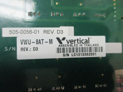 Vertical Wave IP 500 VM5-8AT-M VMU-8AT-M 505-0056-01 8 Port Analog Trunk Card