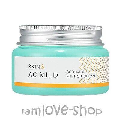 [Holika Holika] Skin & AC Mild Sebum-x Mirror Cream 60ml Acne