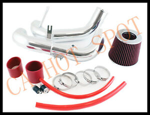 System Cold Air Intake w// Red Filter for 2006-2011 Honda Civic DX LX EX 1.8L L4