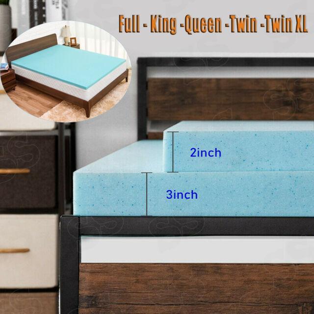 Twin XL 4 inch Thick Accu-Flex 2.0 Firm Foam Mattress Topper-Made in the USA