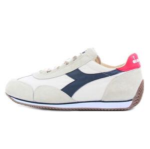 c7e653ba8f Details about Diadora Heritage men's blue white red Equipe Stone Wash 12  sneaker Diadora H