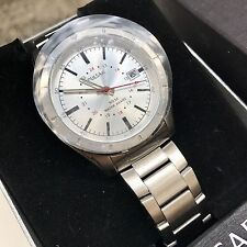 Seiko Pulsar Watch * PXH843X Date Dial Silver Steel COD PayPal
