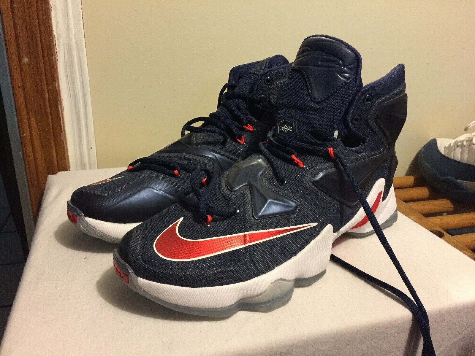 Lebron James 13 Navy  Cheap and fashionable