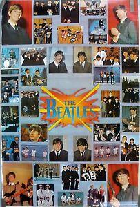 RARE THE BEATLES 1976 VINTAGE ORIGINAL MUSIC POSTER   eBay
