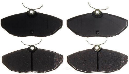 Disc Brake Pad Set-Ceramic Disc Brake Pad Rear ACDelco Advantage 14D806CH