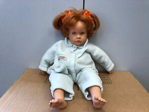 Dolls Top Zustand Götz Hildegard Günzel Puppe Vinyl Puppe 55 Cm Dolls & Bears