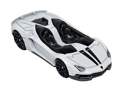 Hot Wheels 2020 LAMBORGHINI AVENTADOR J 1:64 Scale White ...