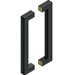 Image Is Loading Contemporary Door Pulls 12 Inch Back To