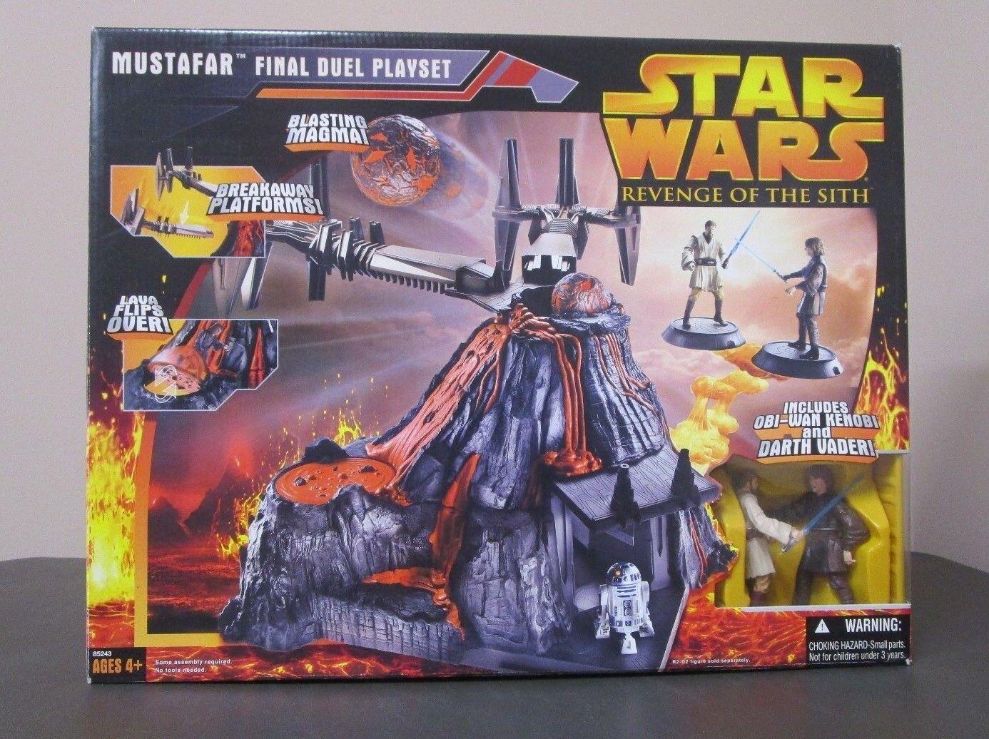 Hacia finales duelo Conjunto de Juego 2018 Star Wars La Venganza De Los Sith La Venganza De Los Sith Menta en caja
