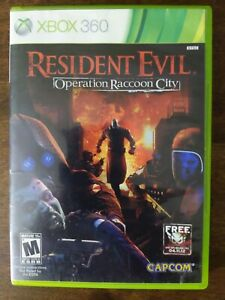 USED-Complete-Resident-Evil-Operation-Raccoon-City-XBOX-360-Shooter