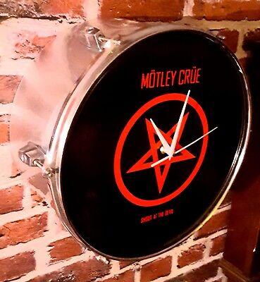 * Motley Crue * Coperta Di Drum Clock #-mostra Il Titolo Originale