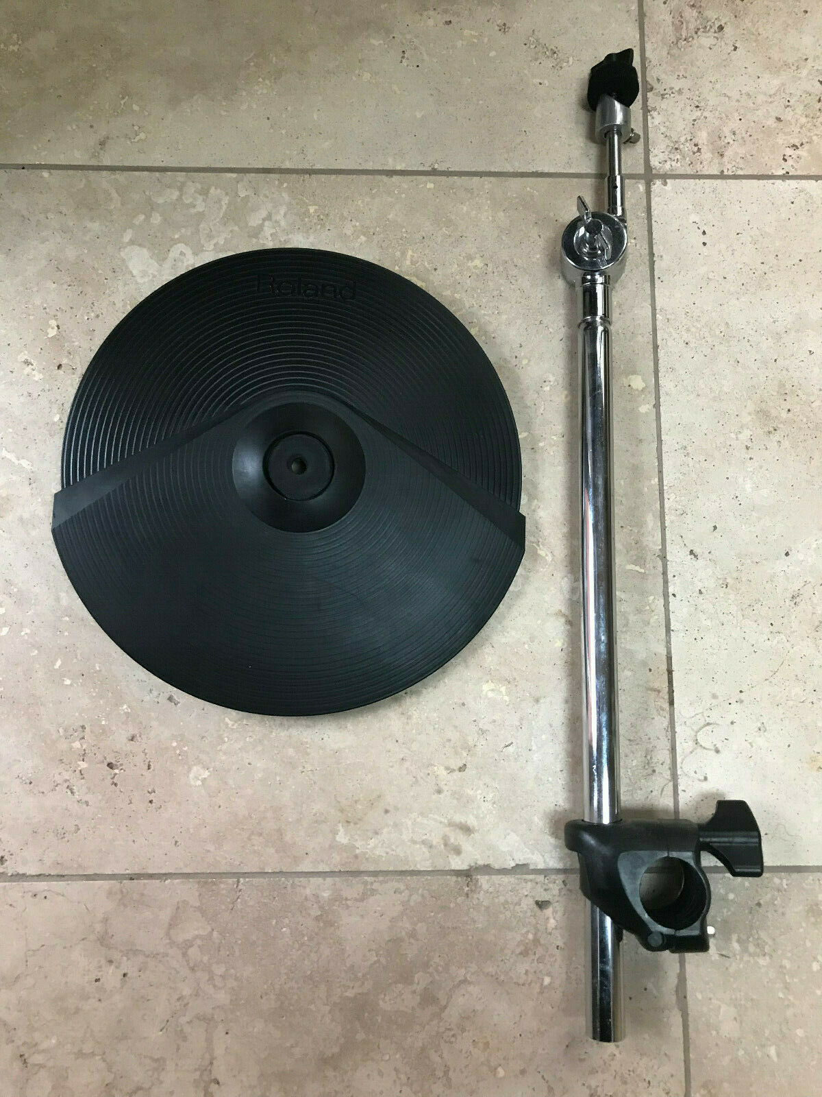 Roland CY-8 Dual V Drum Cymbal CY8  w  MDY mount , stand