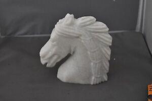 Horse Head Statue Sculpture/bookend Other Antique Decorative Arts Decorative Arts