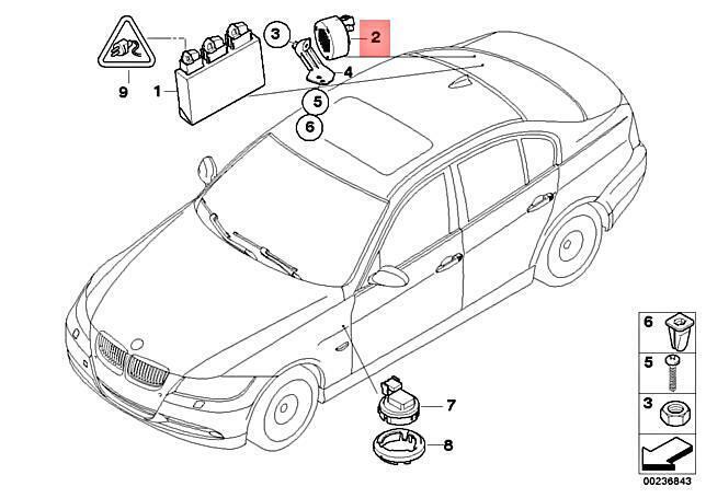 4pcs Bumper Parking Corner Assist Sensor PDC fits for 2006-2013 BMW X3 X5 X6 1 3 5 6 Series