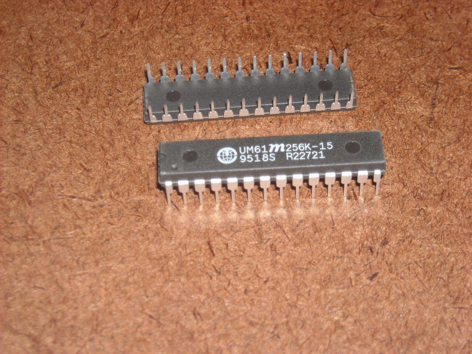 IS61C256AH-20J  32Kx8  20ns SRAM Chip Async Single 5V 256K-Bit  28-Pin SOJ x2pcs