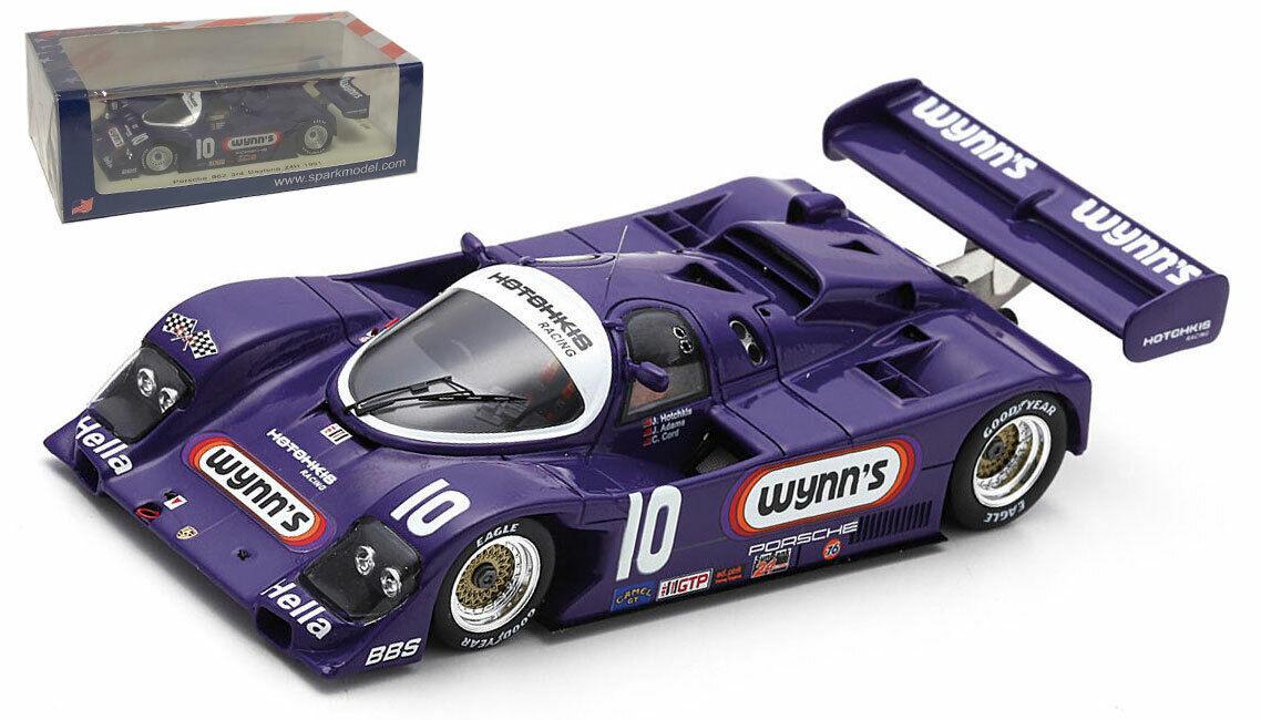 SPARK US042 PORSCHE 962  10 'Wynns Racing  3rd DAYTONA 24 H 1991-échelle 1 43