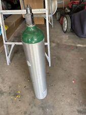 Airgas Oxygen Tank Size E 680 Liters Empty Cylinder Dot 3al2015