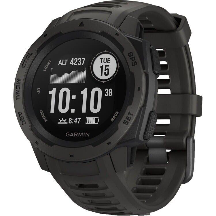 Reloj Gps Garmin instinto Resistente – Grafito