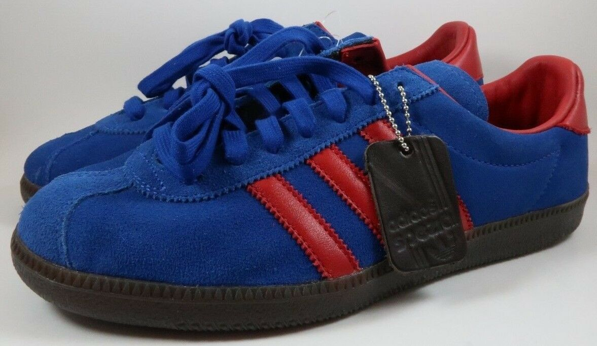 Sz 7 NEW Men's Adidas Retro Spezial Spritus Night Navy Red Royal bluee CG2922