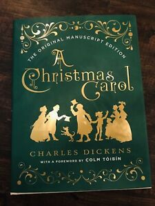 New! A Christmas Carol, 1843 Original Manuscript Edition by Charles Dickens 9780393608649 | eBay