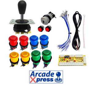 Arcade-Kit-Joystick-Magnetique-x1-Industries-De-Lawrence-Mag-Carte-noir-11
