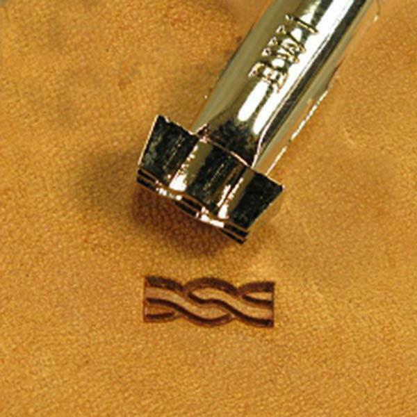 """12.7 mm Barbed Wire 4 Point Leather Stamp BW4 Impression 1//2/"""" US Stamps"""