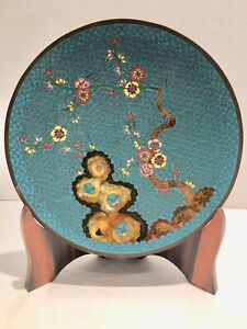 REPUBLIC-CHINESE-CLOISONNE-PLATE