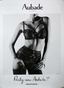 good looking amazon new arrive Details about AUBADE LINGERIE STYLE A - SEXY WOMAN ORIGINAL POSTER - BLACK  AND WHITE PHOTO