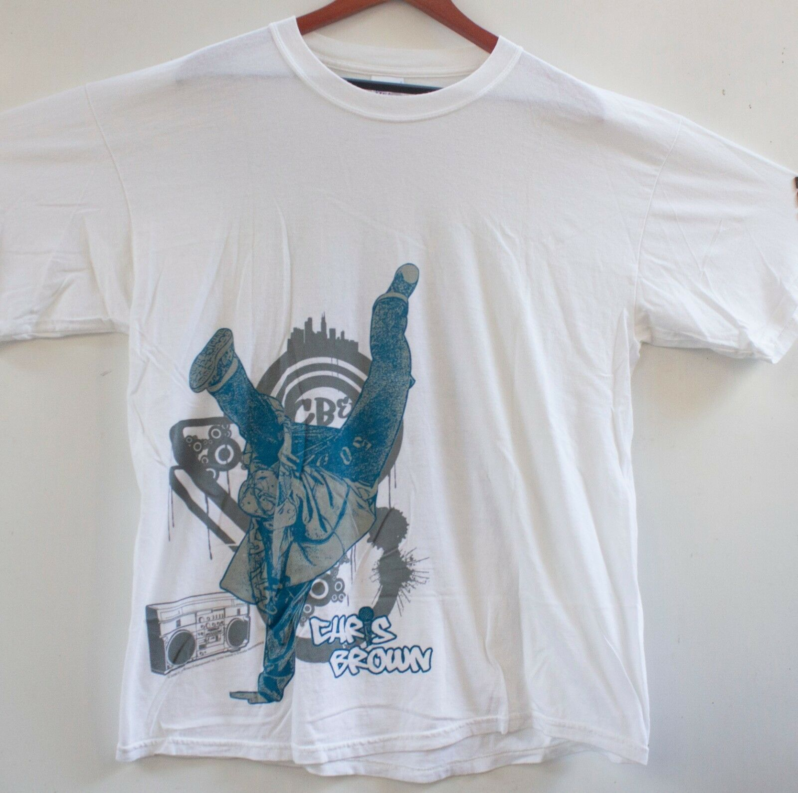 Rare Chris Braun CBE UCP Festival Tour Up Close and Personal T-Shirt 2006 Sz XL