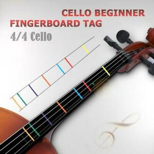 Musical Instruments Stringed Instruments Position Marker Decal Fingerboard Fret Guide Label Finger Chart Beginner Cello Sticker Accessories White