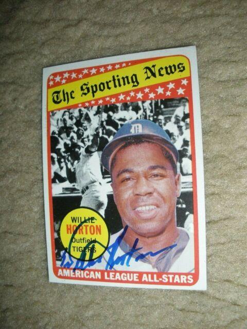 1969 Topps #429 Willie Horton Detroit Tigers Baseball Card