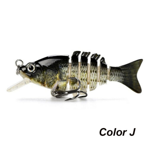 Artificial Fishing Multi Jointed Lure Bionic Bait Crucian Carp Treble Hooks