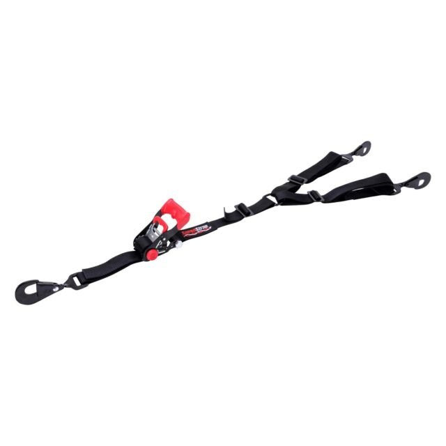 "SpeedStrap 15141 UTV 1.5/"" 3-Point Ratchet Tie Down Black"